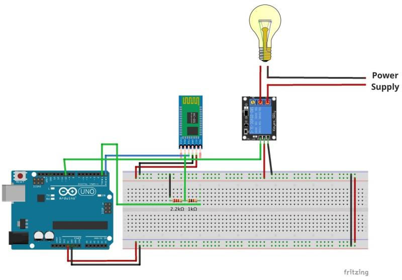 home automation with an arduino a basic tutorial Software Wiring Diagram circuit diagram