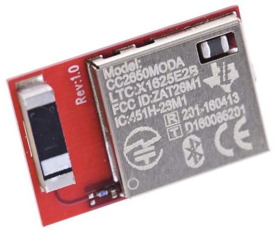 CC2650MODA BLE module from Texas Instruments