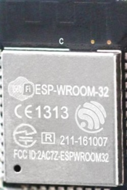 The Espressif ESP32 module (ESP-WROOM-32)