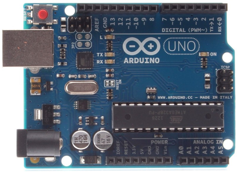 Arduino microcontroller development kit