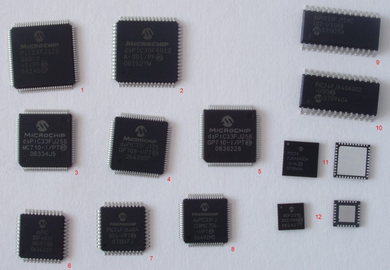 PIC line of microcontrollers from Microchip Technology