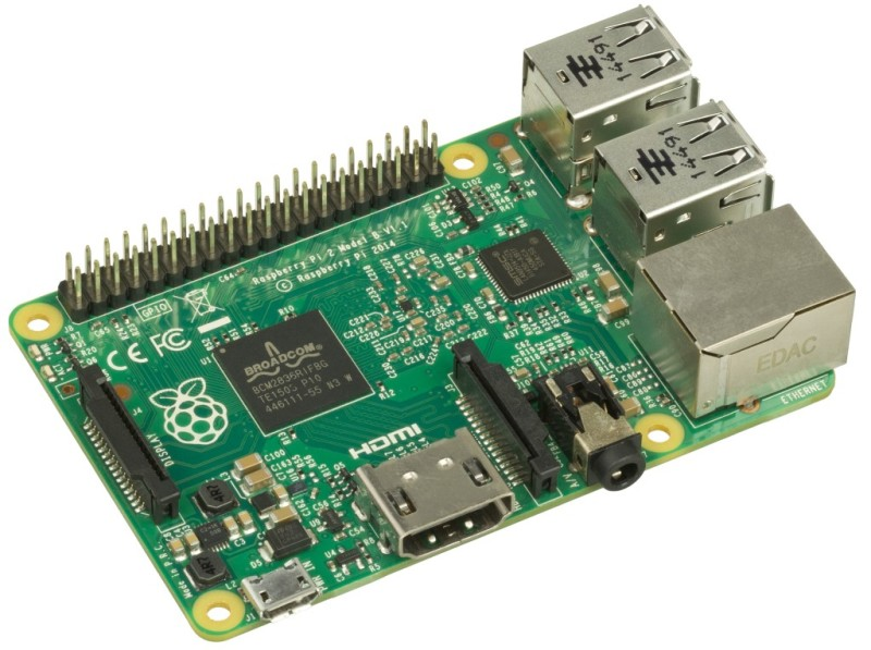 Raspberry Pi microprocessor development platform