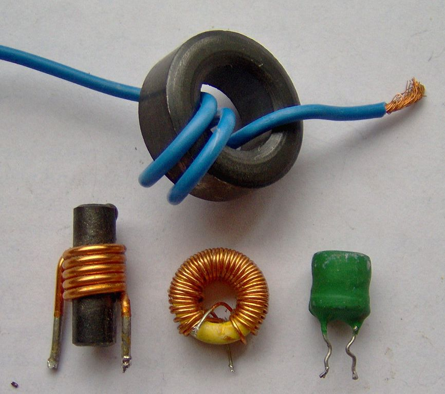 Examples of various inductors