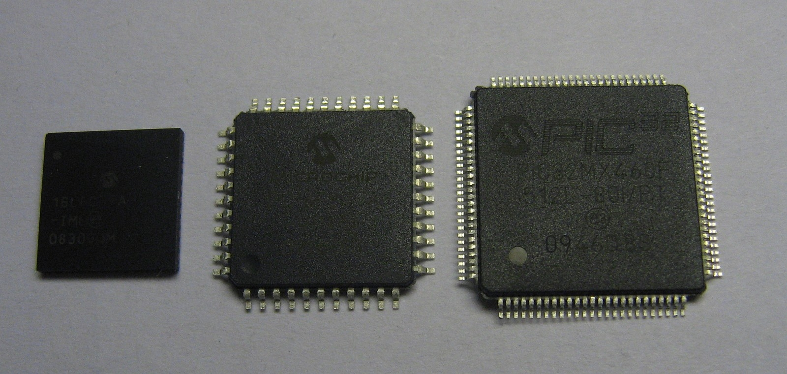 Examples of Integrated Circuits (ICs) which are also commonly called microchips