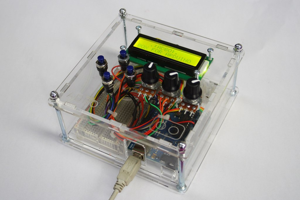 Project box for electronics