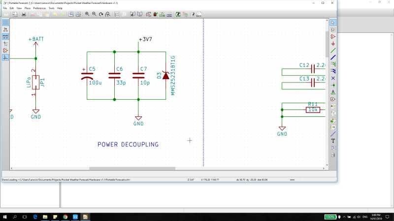 power decoupling circuit