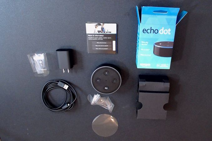 Contents of Amazon Echo Dot