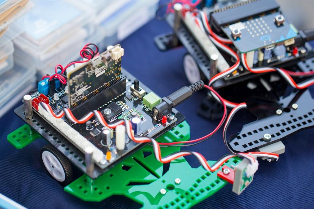 Electronic PCB prototype