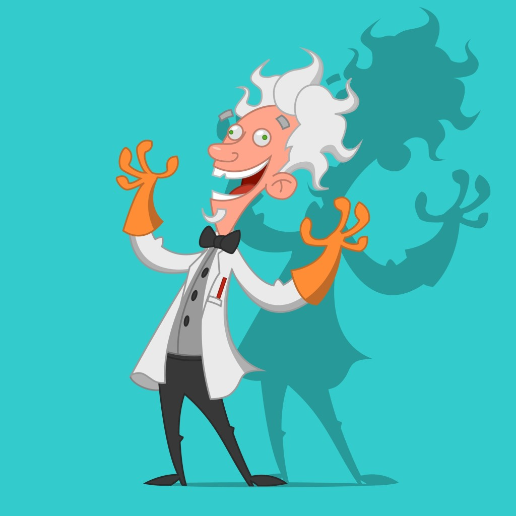 File:Mad scientist transparent background.svg