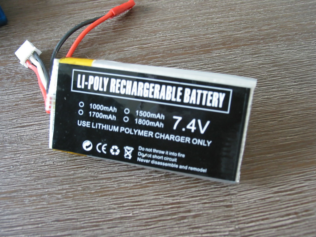 Dual cell Lithium Polymer battery pack