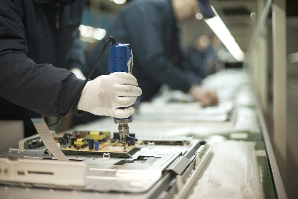 Electronic product manufacturing